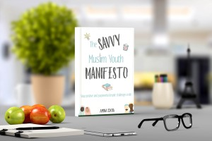 SMY manifesto ecover mockup with fruits