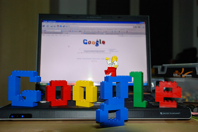 Google in blocks