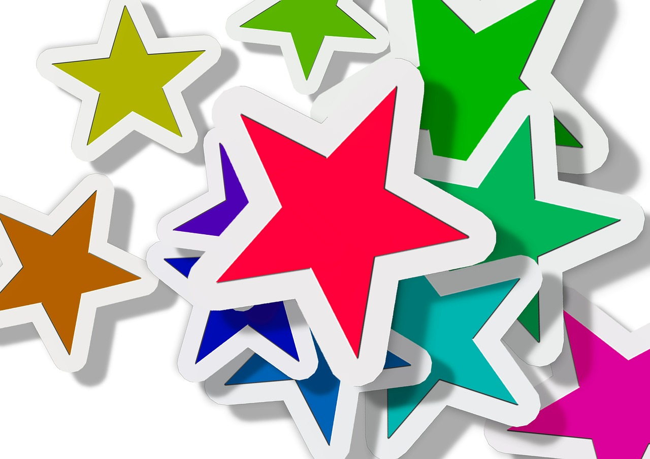 Colourful stars - Top YouthlyHub.com posts of 2015