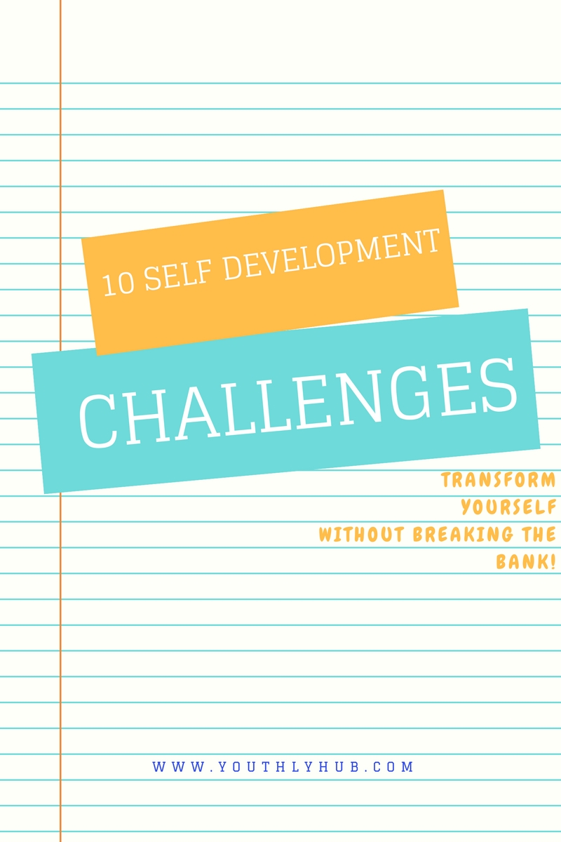 YouthlyHub.com post image on Ten self development challenges