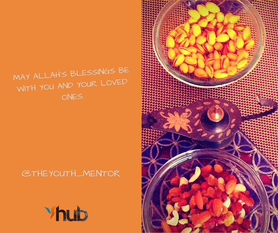 YouthlyHub.com poster on Eid Message