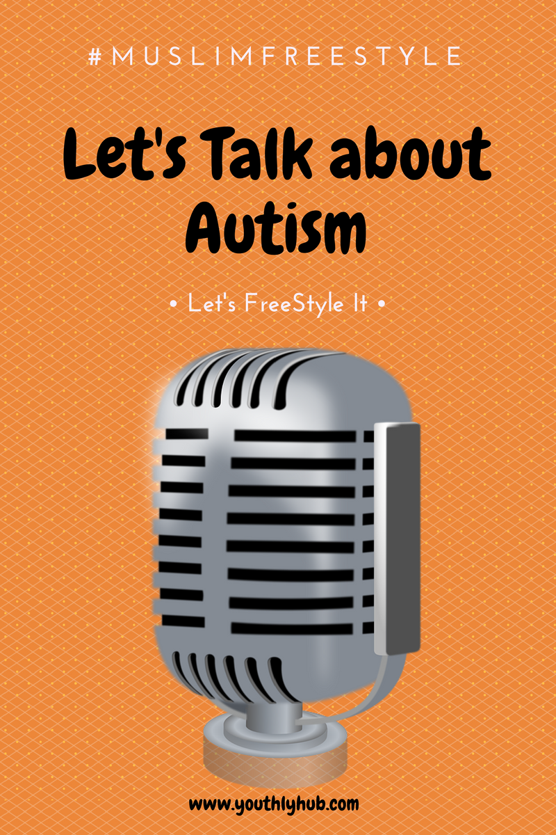 Poster on Let's talk about Autism post on Youthlyhub.com