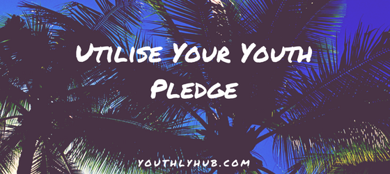 Utilise your Youth Pledge [Free Downloadable Pledge Card]